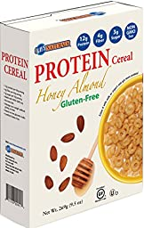 Kay\'s Naturals Gluten Free Protein Honey Almond Cereal, 9.5-Ounce Boxes (Pack of 6)