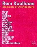 サムネイル:レム・コールハースの新しい書籍『Elements of Architecture』