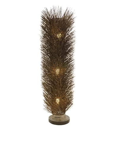 Foreign Affairs Large Urchin Floor Standing Lamp, Dark Brown