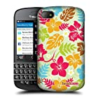 Head Case Designs Floral Hawaiian Patterns Protective Snap-on Hard Back Case Cover for BlackBerry Q10