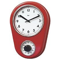 Kitchen Timer Retro Modern Wall Clock