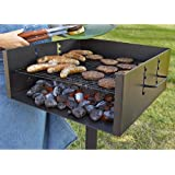 Amazon Com Guide Gear Heavy Duty Park Style Grill Large