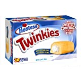 Hostess Twinkies 385g Box x1 (10 Individually Wrapped Cakes) ***Back in Town***