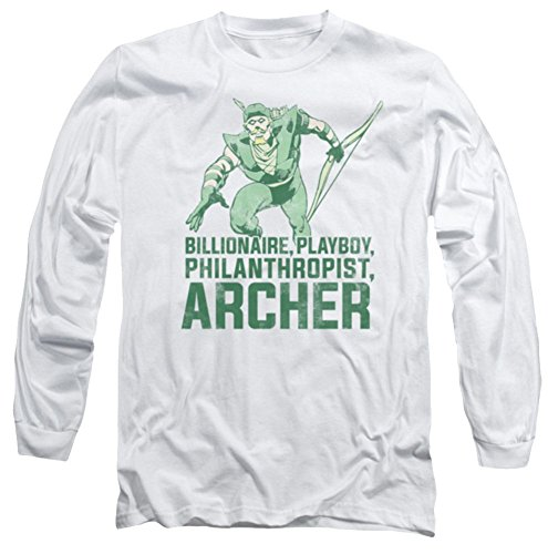 DC Green Arrow Archer Long Sleeve T-Shirt