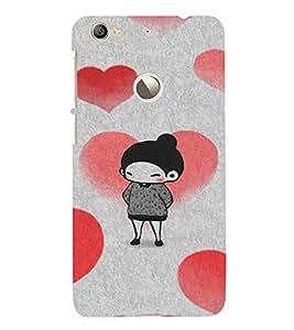 EPICCASE Lover Girl Mobile Back Case Cover For LeEco Le 1s Eco (Designer Case)