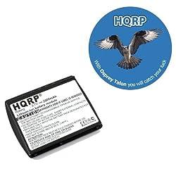 HQRP 2000mAh Battery Pack for SYMBOL MC50 MC5040 21-67314-01 BTRY-MC50EAB00 BTRY-MC50EAB02 Bar Code Scanner, Motorola plus HQRP Coaster