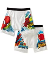 Fruit of the Loom Little Boys' Spider-Man Two-Pack of Boxer-Brief