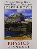 img - for By Douglas C. Giancoli Student Study Guide & Selected Solutions Manual for Physics: Principles with Applications Volume 2 (7th Edition) [Paperback] book / textbook / text book