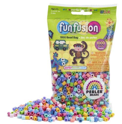 Perler beads pastel mix bead bag 1000 count