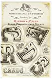 Something Tattered CARDS Bunting Clear Stamps, 4 by 4-Inch