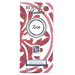 Rose Otto Organic Milk Chocolate Artisan Bar