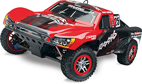 Traxxas 59076-1 Slayer Pro 4X4: 4WD Nitro-Powered Short Course Truck, Ready-To-Race (1/10-Scale), Colors May Vary (Nitro Trucks 4x4 compare prices)