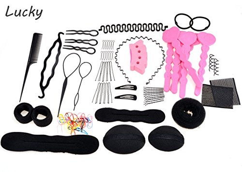 20-different-type-set-hair-twist-band-hair-comb-hairpin-rubber-device-hair-styling-clip-accessories-