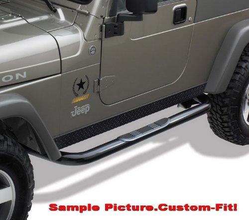 Brand New 2007 2013 Jeep Wrangler Jk 2 Door 3 Black Side