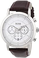 Hugo Boss - 1512871 - Montre Homme - Quartz Chronographe - Chronomètre - Bracelet Cuir Marron