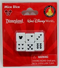 Disney Mickey Mouse Mice Dice Set of 6 – Disney Parks Exclusive & Limited Availability