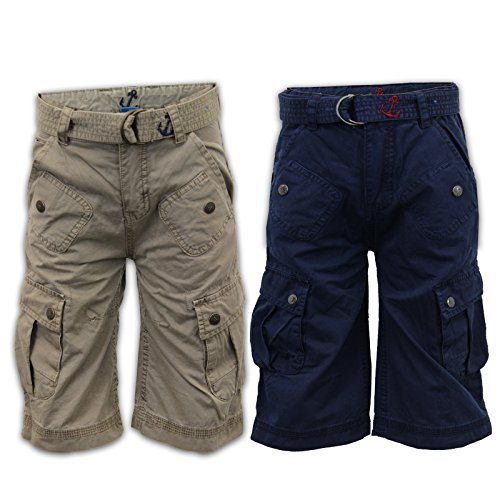 Boys' Shorts Adams Navy Size 2 Years front-865318