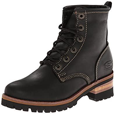 skechers s laramie 2 engineer boot shoes