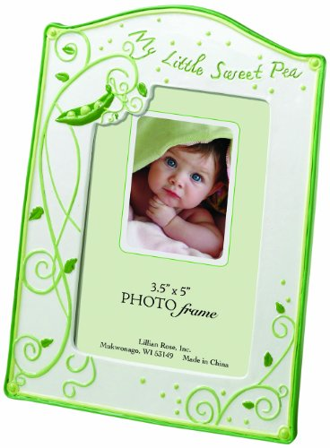 "Lillian Rose Photo Frame, Sweet Pea, 3.5"" x 5"" - 1"