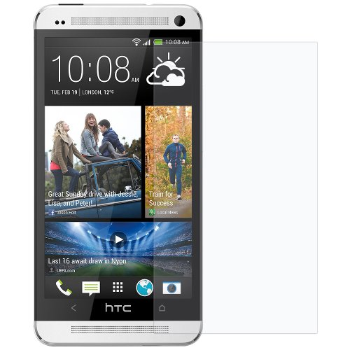 Amzer 95518 Kristal Clear Screen Protector for HTC One