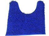 (ファロ) FALO 吸水 速乾 マイクロファイバー トイレマット (Regular) 50cm×50cm ブルー MAT-005-blue2-V