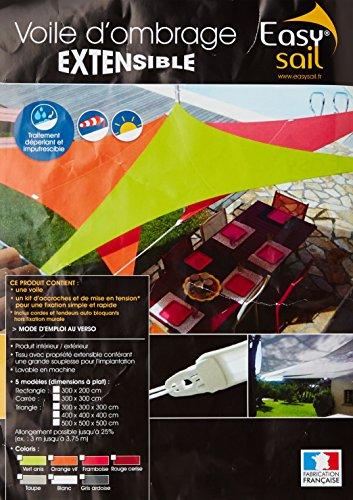 Easy Sail ESRO200 - Vela de sombra para patio
