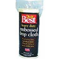 Do it Best Embossed Plastic Drop Cloth-2MIL 9X12 PLS DROP CLOTH
