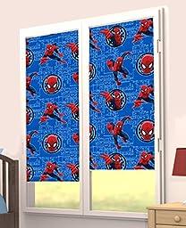 Marvel Spiderman Classic Roller Shade Curtain Window Treatment
