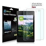 Nexus 7 Screen Protector, JETech® 2-Pack Google Nexus 7 FHD (2nd GENERATION) 2013 Tablet Premium High Definition (HD) Clear Screen Protector