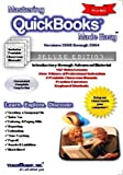 img - for Mastering QuickBooks Made Easy Training Tutorial v. 2008 through 2004 - How to use QuickBooks Video e Book Manual Guide. Even dummies can learn from ... through Advanced material from Professor Joe book / textbook / text book