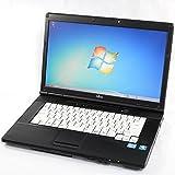 Office2016 搭載モデル + 新品SSD240GB搭載可能 FUJITSU 富士通 LIFEBOOK A561 シリーズ 新 Celeron B710(1.60GHz) / 15.6型液晶 Windows7 Professional 中古パソコン 中古ノートパソコン(HDD:500GB/RAM:8GB 『Win7 64bit』)