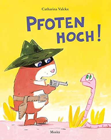 http://www.amazon.de/Pfoten-hoch-Bilderbuch-Catharina-Valckx/dp/3895652350/ref=sr_1_1?s=books&ie=UTF8&qid=1391799347&sr=1-1&keywords=pfoten+hoch