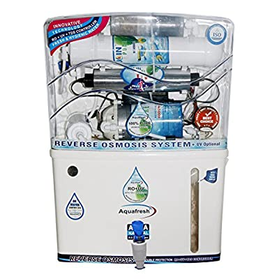 Aquafresh Apple J12 12 ltr RO+UV+TDS Controller+UF+Mineral Cottage+Sediment+Carbon Filter + Free Extra Bowl Set...