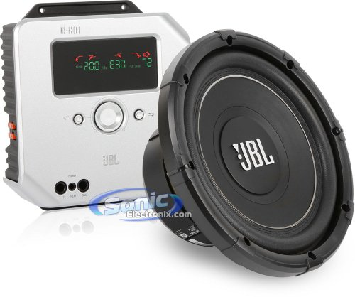 Jbl Ms-12Sd2 + Jbl Ms-A5001 1800W Ms Series Compact Installation Car Audio Bass Package