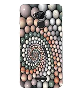 PrintDhaba Pattern D-5363 Back Case Cover for COOLPAD NOTE 3 LITE (Multi-Coloured)