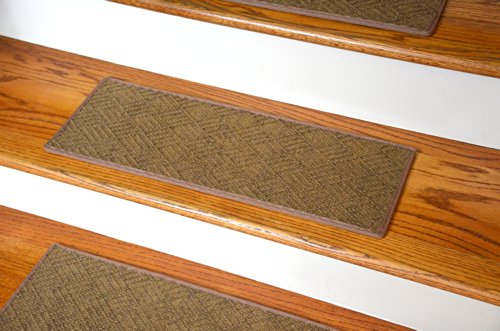 Dean Flooring Company Dean Indoor Outdoor Pet Friendly Tape Free Non Slip Carpet Stair Step