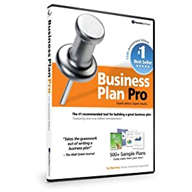 Business Plan Pro 15th Anniversary Edition