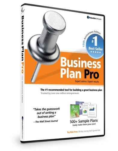 Palo Alto Software, Inc. Business Plan Pro 15Th Anniversary Edition [Old Version]