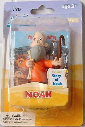 Picture of One 2 Tales of Glory Toy Figurine Noah and Story Bible Figure (B002M2BXUA) (One 2 Action Figures)