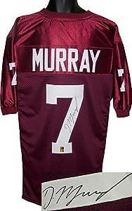 DeMarco Murray signed Oklahoma Sooners Maroon Custom Jersey- Murray Hologram