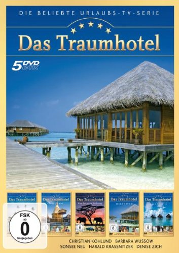 Das Traumhotel - 5er-DVD-Box Folge 3 - Sri Lanka; Chiang Mai; Kap der guten Hoffnung; Malediven; Malaysia