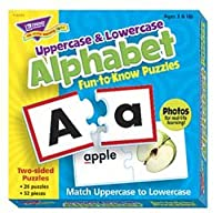 Fun-to-Know® Puzzles: Uppercase & Lowercase Alphabet by Trend Enterprises