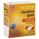 Rite Aid Pharmacy Stop Smoking Aid, 2 mg, Gum, Coated Fruit, 100 pieces