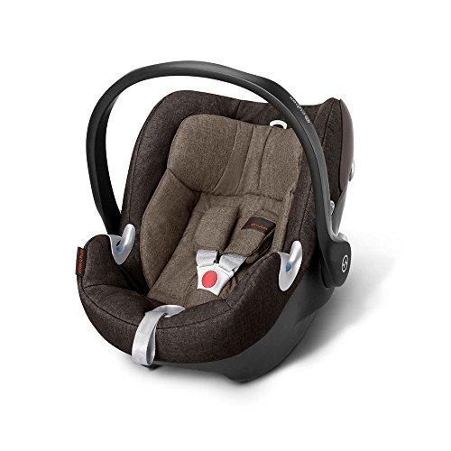 Babyschale Gr. 0+, 0-13 kg, ab Geburt bis ca. 18 Monate Aton Q Plus Cybex Desert Khaki - khaki brown