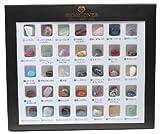 石標本セット 世界の石コレクション(35種類)