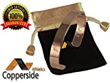 Luxury Copper Magnetic Bracelet For Men & Women-Magnetic Therapy, Healing Jewelry For Rheumatoid Arthritis Joint Pain, Health-Perfect Gift For Your Anniversary-Magnet Field Wristband Bangle