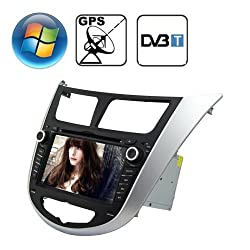 See Rungrace 7.0 inch Windows CE 6.0 TFT Screen In-Dash Car DVD Player for Hyundai Verna with Bluetooth / GPS / RDS / DVB-T Details