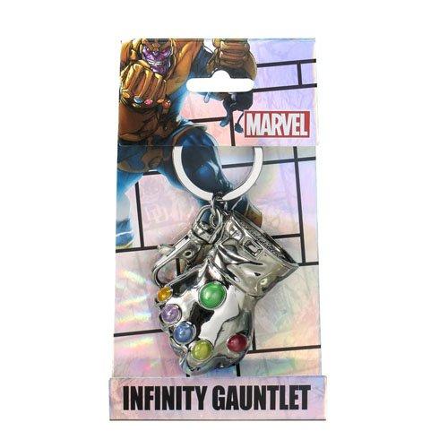 Marvel Thanos Glove Pewter Key Ring - 1