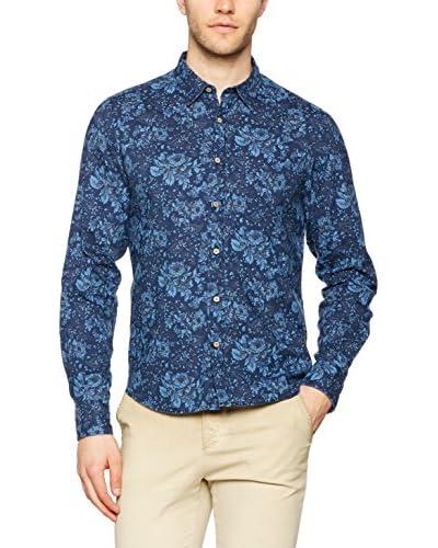 Meltin Pot Camisa Hombre Calkinsm Azul Oscuro
