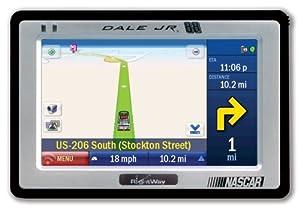 Rightway RW500JR Spotter 4.3-Inch Portable GPS Navigator (Dale Earnhardt Jr. Edition)